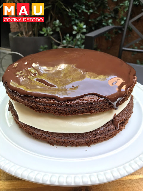 mau cocina de todo receta pastel chocolate pinguino pinguinos facil