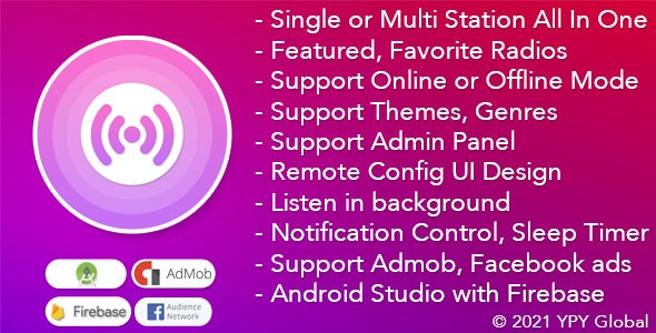 XRadio v4.0 - Best Radio Template For Android