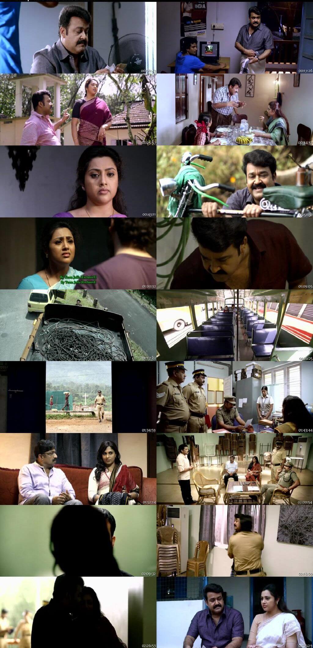 Screen Shot Of Drishyam 2013 300MB Full Movie Hindi Dubbed Free Download 480P BRRip Small Size PC Movie