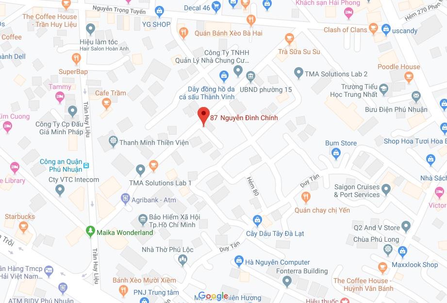 Bán nhà hẻm 87 Nguyễn Đình Chính phường 15 quận Phú Nhuận