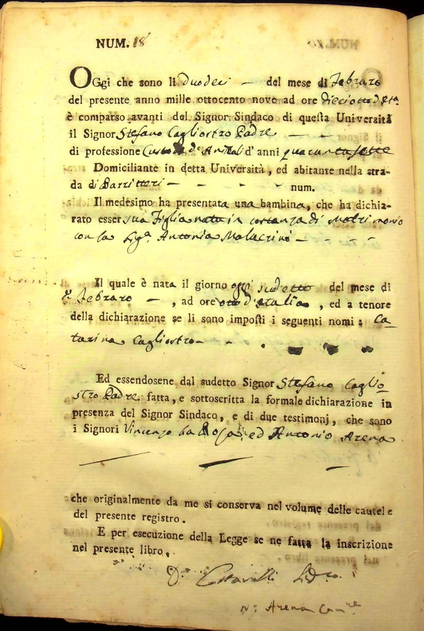 Archivio Storico Comunale Seminara