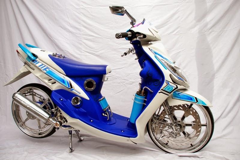 Modifikasi Motor Mio Sporty Terbaik