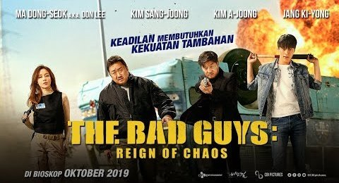 The Bad Guys: The Movie (2019) [Hindi (Unofficial Dubbed) + Korean (ORG)] Dual Audio   Blu-Ray 720p [HD]