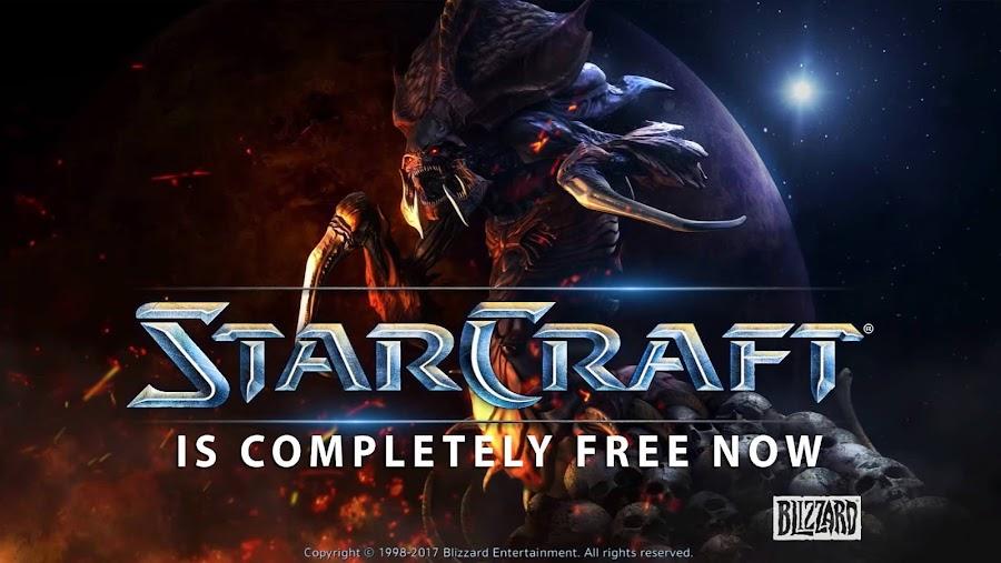 blizzard starcraft free