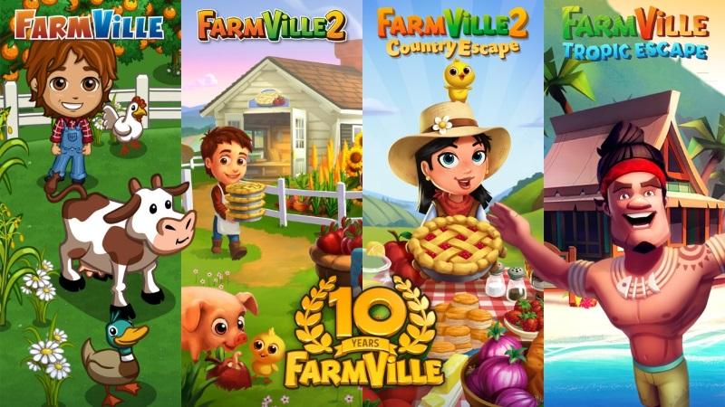 Farmville เกมส์ปลูกผักในตำนาน ครบรอบ 10 ปีแล้ว