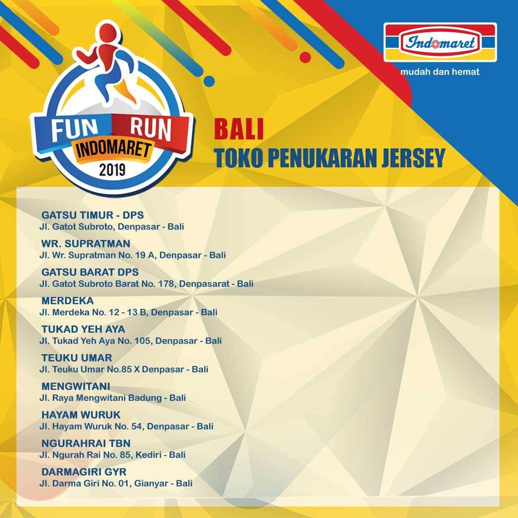 Ticket Box - Fun Run Indomaret - Bali • 2019