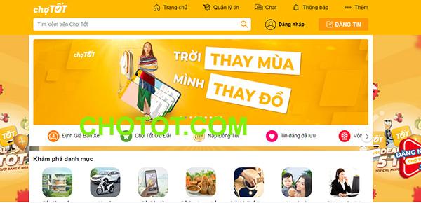Tải app Chợ Tốt   Ứng dụng chuyên mua bán online trên ChoTot.Com b