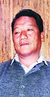 Bimal Gurung in Kalimpong