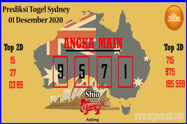 Syair Sydney 1 Desember 2020