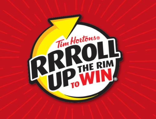 Tim Hortons Roll Up The Rim To Win 2018