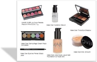 Daftar Harga Kosmetik Make Over Terbaru Bulan Agustus 2017