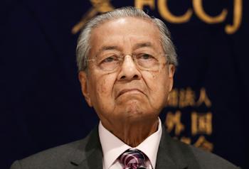 Malaysian PM Mahathir submits resignation
