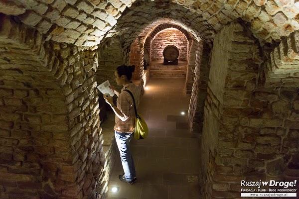 W podziemnej trasie turystycznej w Przemyślu