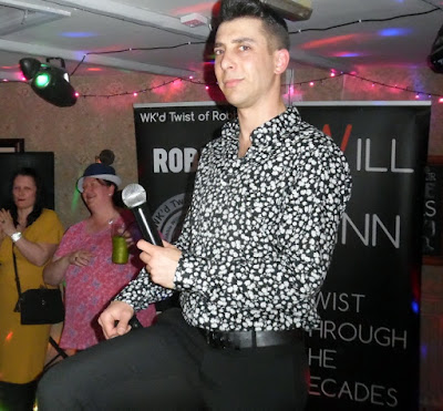 The Wk'd Twist of Robbie during a previous appearance at the Britannia pub in Brigg town centre