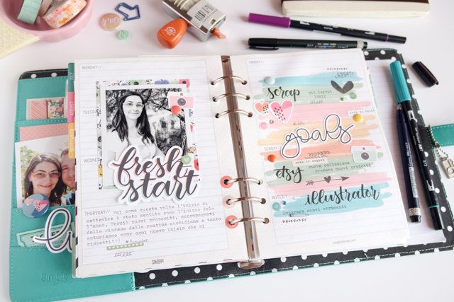 scrappin'planner by kushi settembre ottobre 2016 4| www.kkushi.com