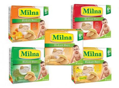 Harga Biskuit Milna untuk Bayi, Ecer dan Grosir