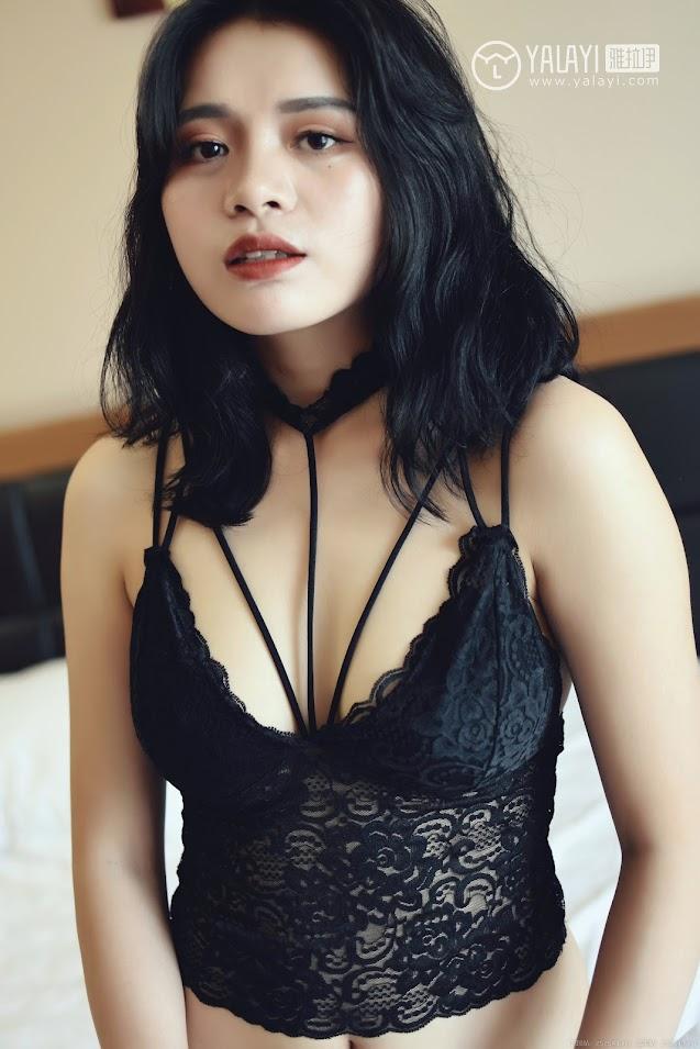 YALAYI雅拉伊  2018.10.15 NO.011 心蕊的睡衣魅惑 米心蕊 jav av image download