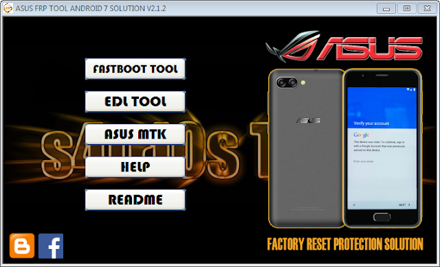 Download ASUS Zenfone FRP TOOL Collection 2019