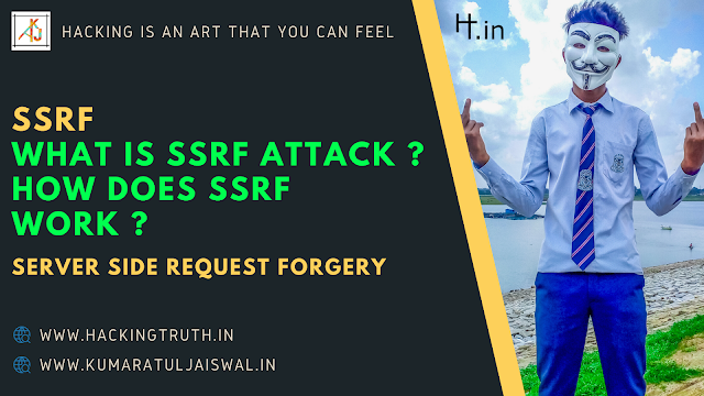 Server Side Request Forgery Attack SSRF Explaination with Lab Practical