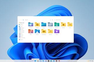 tampilan desktop windows 11