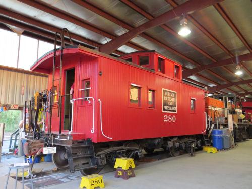 Buffalo Rochester & Pittsburgh caboose