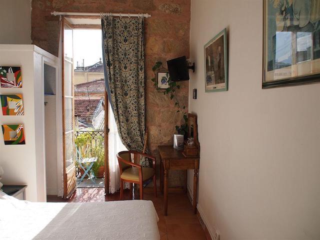 Hotel Wilson em Nice - quarto