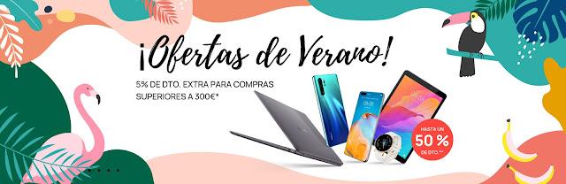 Top 5 ¡Ofertas de Verano! de la Huawei Store