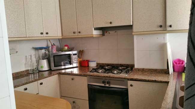 piso en venta calle columbretes castellon cocina