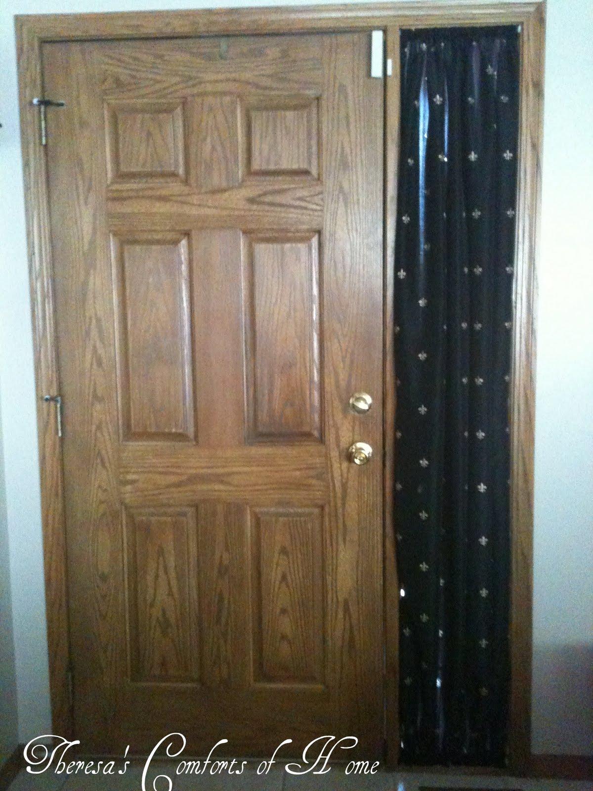 Sidelight Curtains Ideas