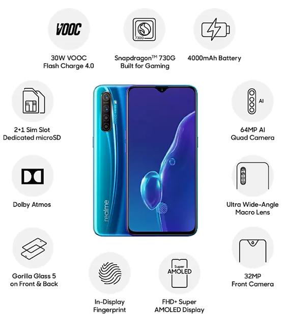 Realme X2 की ऑनलाइन सेल 21 जुलाई को शाम 8:00 बजे होगा इस Smartphone में 8GB रैम 256gb इंटरनल स्टोरेज और स्नैपड्रेगन 730 प्रोसेसर है