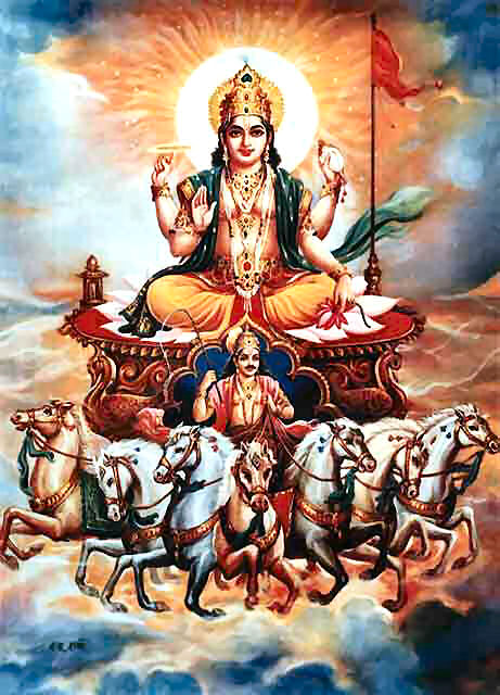Decode Hindu Mythology Seventh Horse Of The Sun