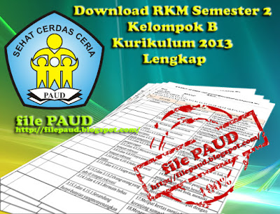Download RKM Semester 2 Kelompok B Kurikulum 2013 Lengkap