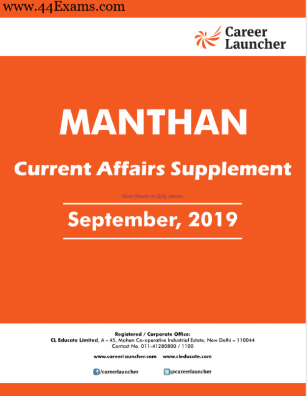 Manthan-Current-Affairs-September-2019-For-All-Competitive-Exam-PDF-Book