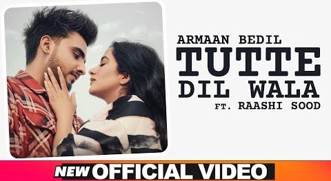 Armaan Bedil- Tutte Dil Wala Lyrics   Punjabi Song   New Song 2020