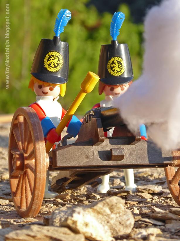 """Playmobil 3544, disparo de artillería """"casacas rojas""""  (Playmobil 3544 - redcoats)"""