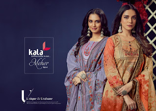 Kala Meher vol 4 Cotton Dress wholesale Price