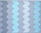 Shadow Pale Chevron Precut Baby Quilt Kit