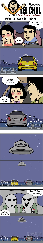 """TRUYỆN BỰA LEE CHUL phần 138: """"Làm việc"""" trên xe hơi"""