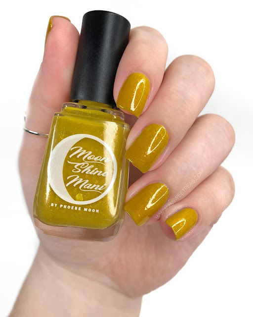 Moon Shine Mani Colonel Mustard 25 Sweetpeas
