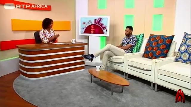 Keith B Angola é entrevistado pela RTP África