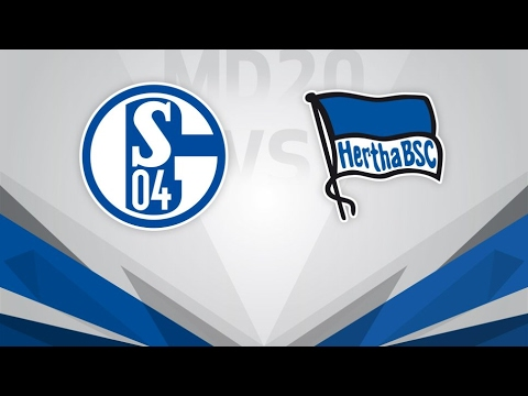 Schalke 04 vs Hertha Berlin - Video Highlights & Full Match