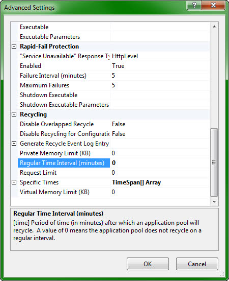 Adjusting IIS Idle Time-Out in Azure | The Hallmanac
