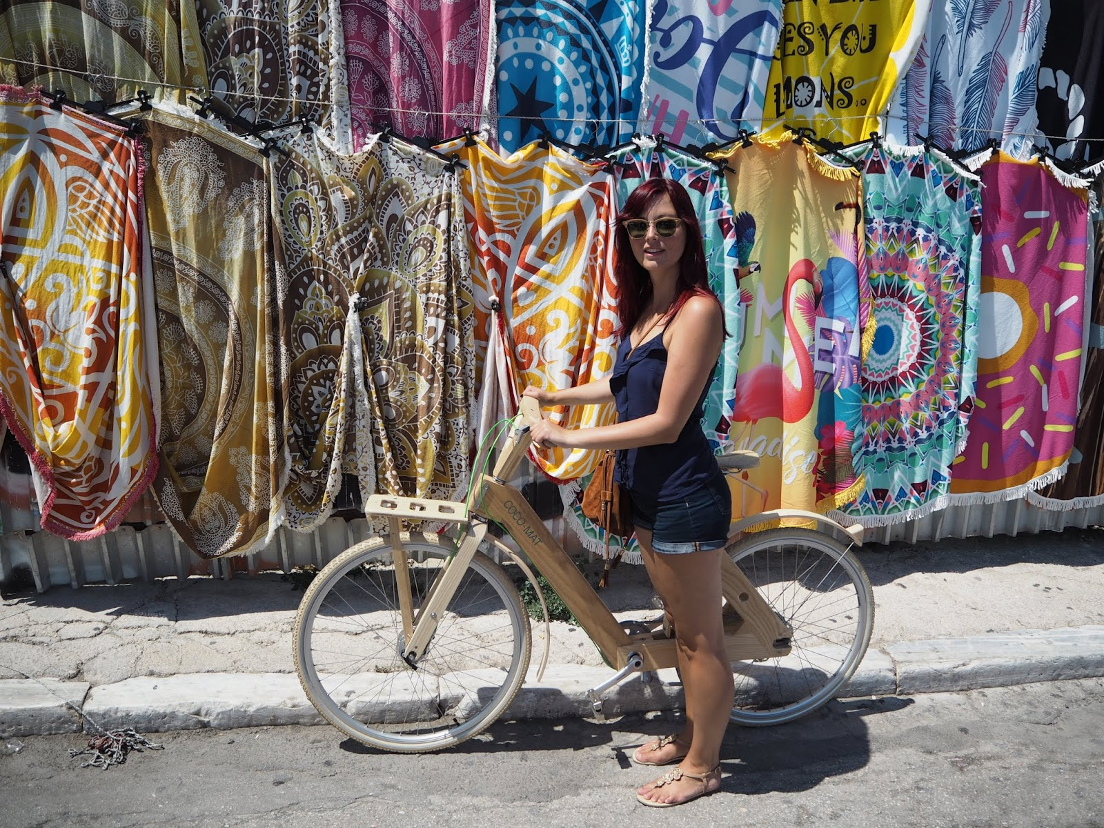 sightseeing tour on a bike in athens