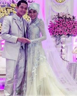 gaun pengantin muslimah cinderella