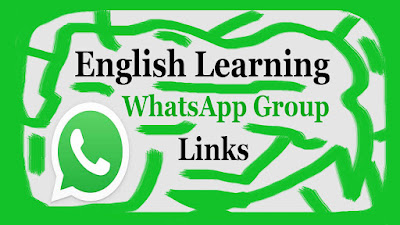 English Learning-WhatsApp Group Links
