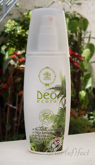 Green Energy Organics Deò Ecolò Deodorante Tè Verde e Zenzero