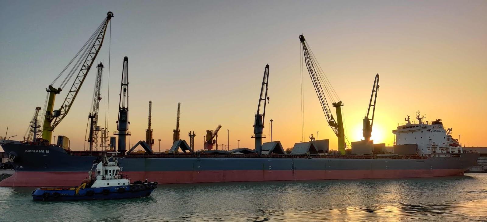 Bulk carrier, tug boat