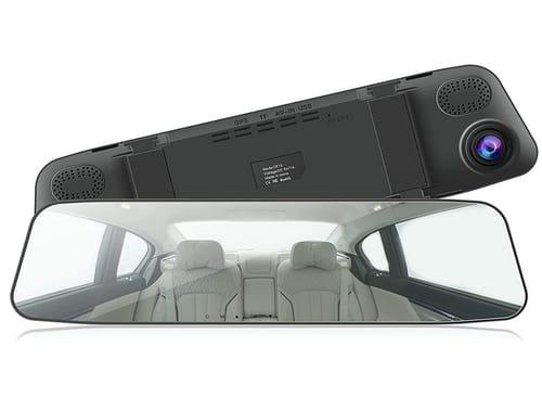 CAMPARKCAM Full HD IPS Full Touch Screen Mirror Dash Cam