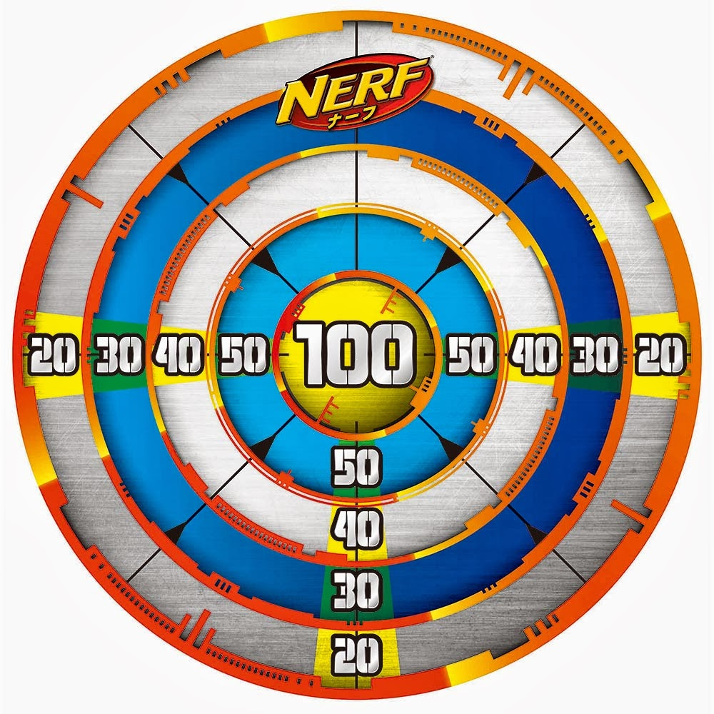 Remarkable image intended for nerf targets printable