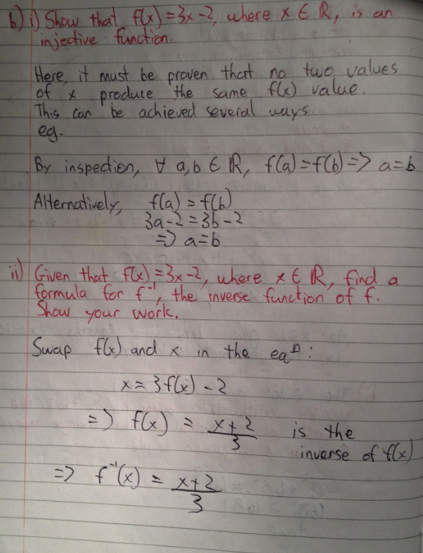Leaving Cert Project Maths Paper 1 Solutions 8
